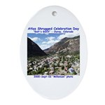 Atlas Shrugged Celebration Day Oval Ornament