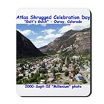Atlas Shrugged Celebration Day Mousepad