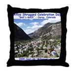 Atlas Shrugged Celebration Day Throw Pillow