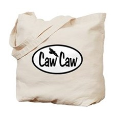 Caw Caw Oval Tote Bag