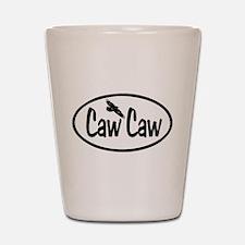 Caw Caw Oval Shot Glass
