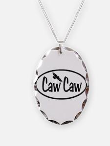 Caw Caw Oval Necklace