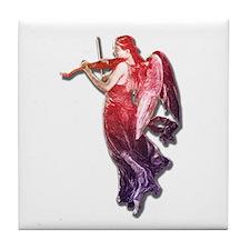Angelic Fiddler Tile Coaster