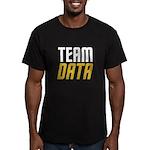 Team Data Men's Fitted T-Shirt (dark)