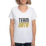 Team Data Women's V-Neck T-Shirt