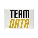 Team Data Rectangle Magnet (100 pack)