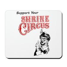 Shrine Circus Clown Mousepad