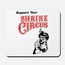 Shrine Circus Clown Mousepad