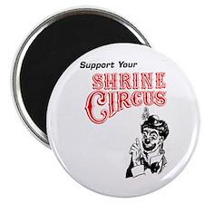 "Shrine Circus Clown 2.25"" Magnet (10 pack)"