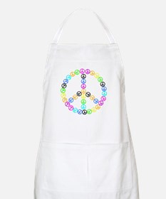 Peace Signs Apron