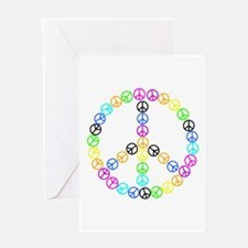 Peace Signs Greeting Card