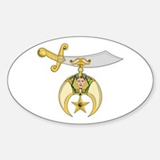 Jewel of the Order Sticker (Oval)