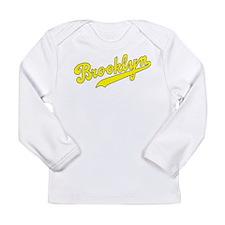 Brooklyn v2 Yellow Long Sleeve Infant T-Shirt