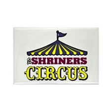 Shriners Circus Rectangle Magnet