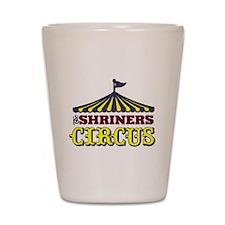 Shriners Circus Shot Glass