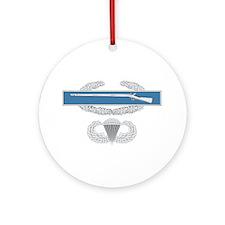 CIB Airborne Ornament (Round)