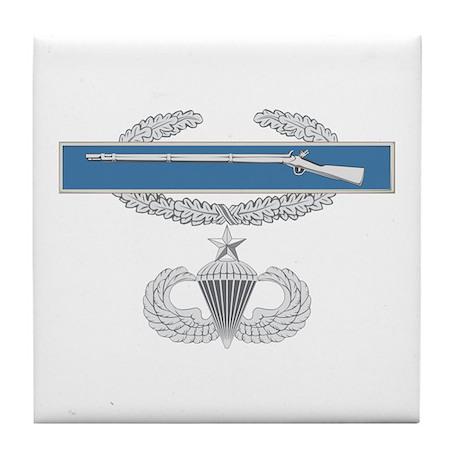 CIB Airborne Senior Tile Coaster