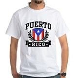 Puerto rico Mens White T-shirts