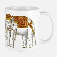 Thai Erawan White Elephant Mug