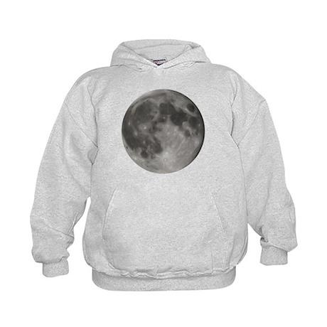 Luna - Full Moon - Kids Hoodie