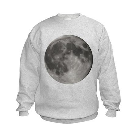 Luna - Full Moon - Kids Sweatshirt