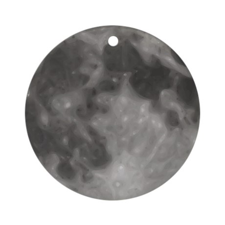 Luna - Full Moon - Ornament (Round)