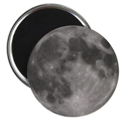 Luna - Full Moon - Magnet