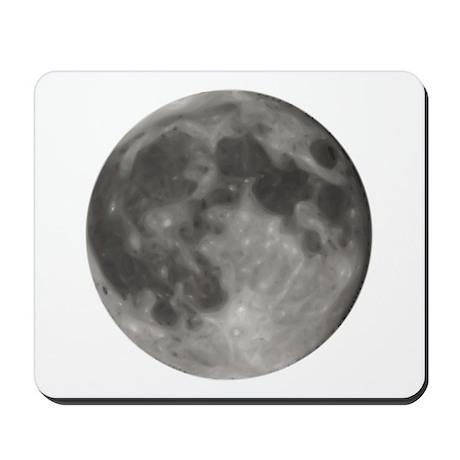 Luna - Full Moon - Mousepad