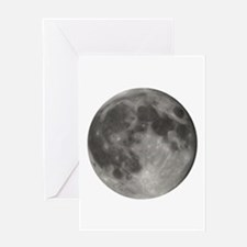 Luna - Full Moon - Greeting Card