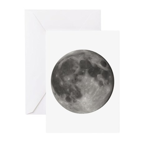 Luna - Full Moon - Greeting Cards (Pk of 20)
