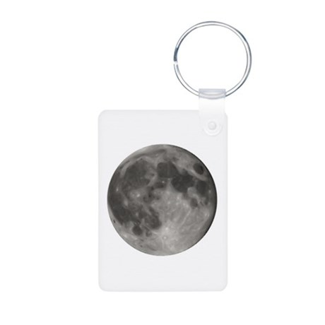 Luna - Full Moon - Aluminum Photo Keychain