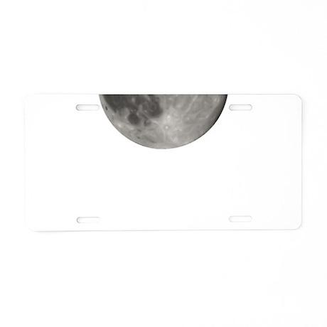 Luna - Full Moon - Aluminum License Plate