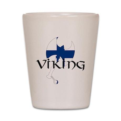 Finnish Viking Axe Shot Glass