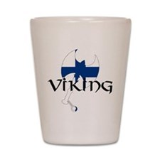 Finnish Viking Axe Shot Glass
