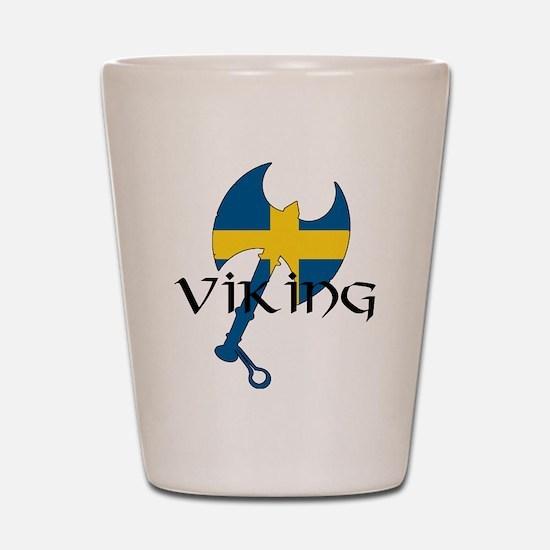 Swedish Viking Axe Shot Glass