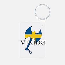 Swedish Viking Axe Keychains
