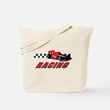 Unique Car racing Tote Bag