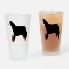 Bernese Mountain Dog Pint Glass