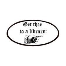Get thee to a library Patches
