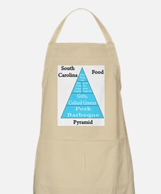 South Carolina Food Pyramid Apron