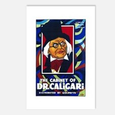 The Cabinet Of Dr. Caligari Silent Movie Poster Po