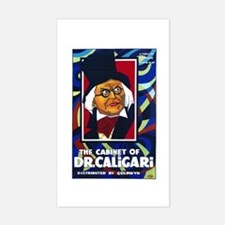 The Cabinet Of Dr. Caligari Silent Movie Poster St