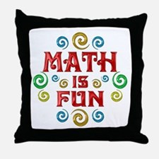 Math is Fun Throw Pillow