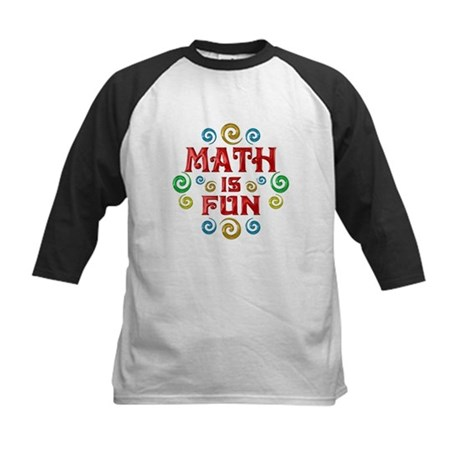 Math is Fun Kids Baseball Jersey