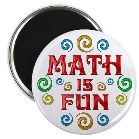 "Math is Fun 2.25"" Magnet (100 pack)"