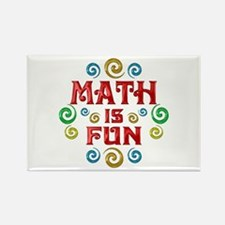 Math is Fun Rectangle Magnet (10 pack)