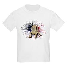 Bearded Dragon USA Kids T-Shirt