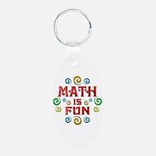 Math is Fun Keychains