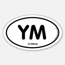 YM Oval Decal