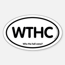 WHTC Oval Decal